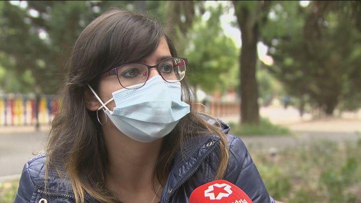 """Rosa, beneficiaria de las Tarjetas Familias de Madrid: """"Se acabó el que mis hijos se vayan a la cama sin cenar"""""""