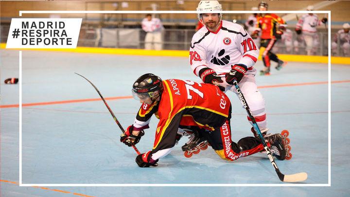 Tres Cantos se impone en la ida del playoff por el título de la Élite Masculina de hockey línea