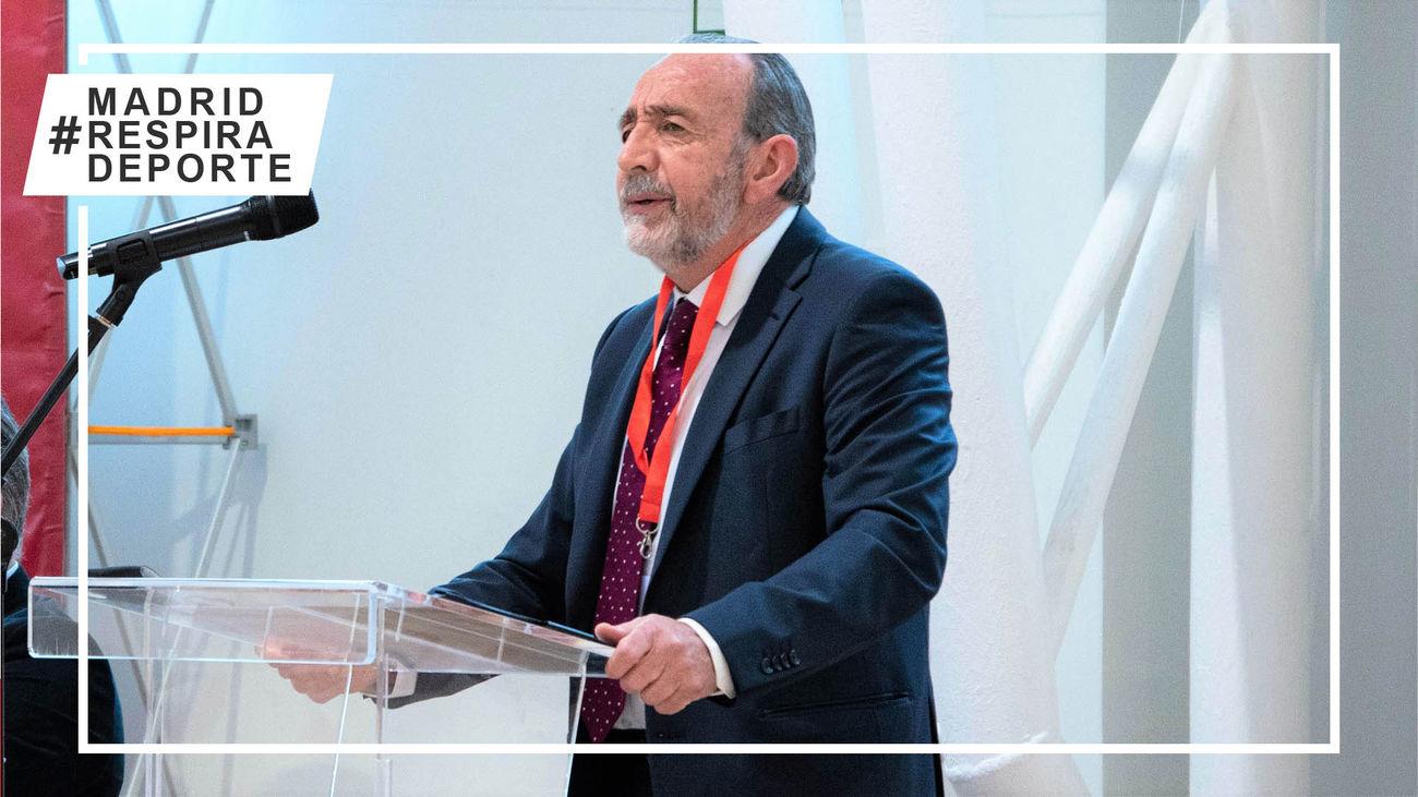 Paco Díez, proclamado presidente de la Federación de Fútbol de Madrid para un segundo mandato