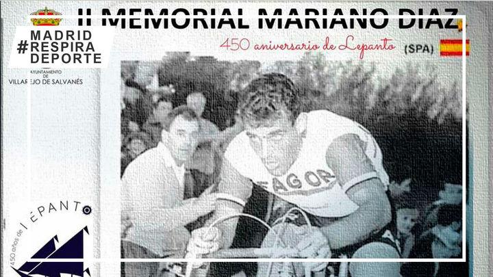 Arranca la temporada de ciclismo en carretera con el II Memorial Mariano Díaz en Villarejo de Salvanés