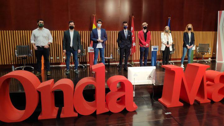 Los políticos más  jóvenes a debate en Onda Madrid