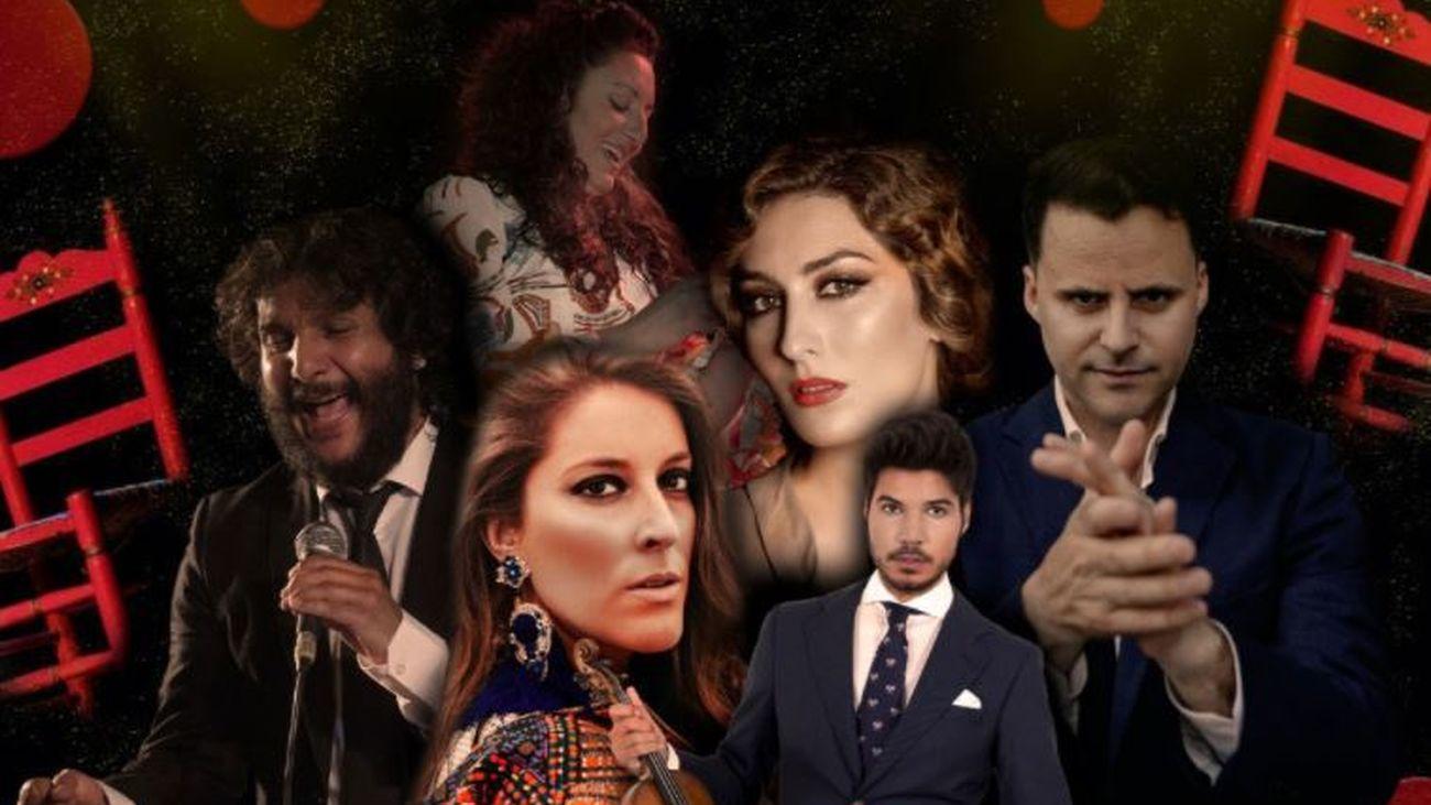 Estrella Morente y Juan Pinilla cierran el festival Rivas Flamenca