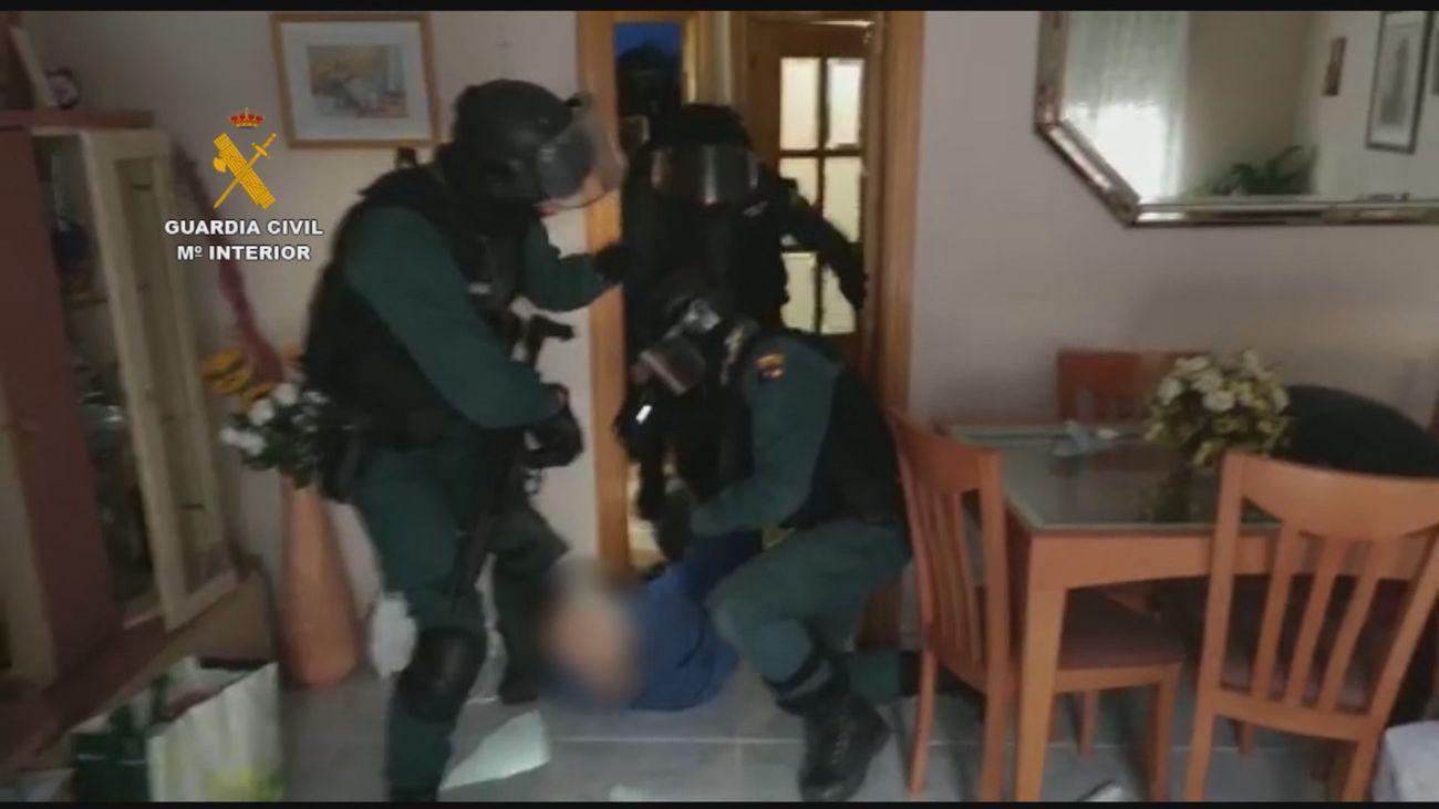 Seis detenidos de una violenta banda latina en Valdilecha