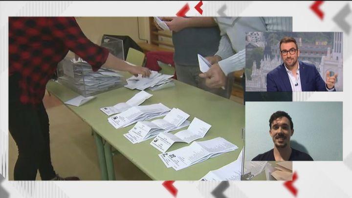 Francisco, un joven de Parla, recibe por sexta vez consecutiva la convocatoria para formar parte de las mesas electorales