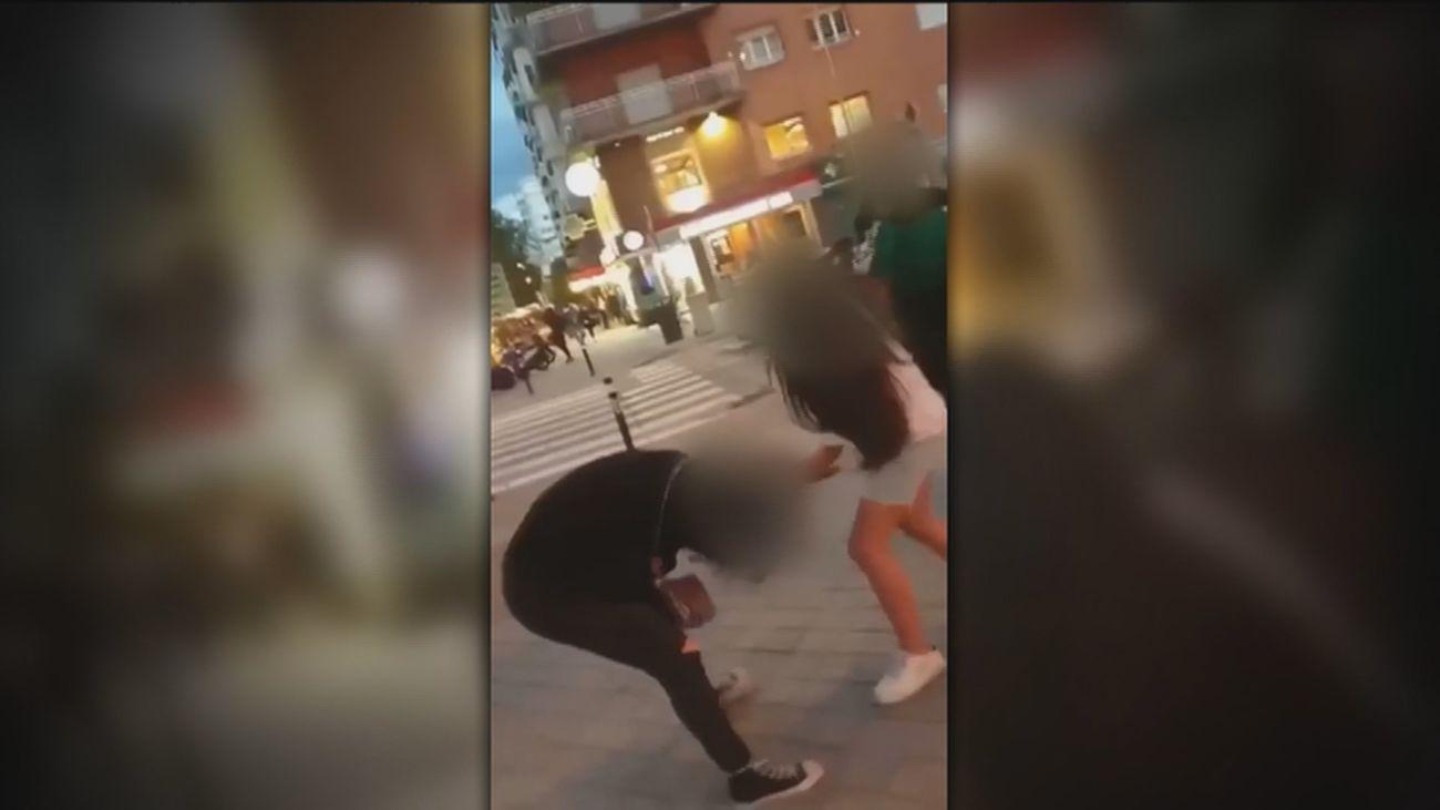 Brutales agresiones entre jóvenes, una de ellas grabada en Chamartín