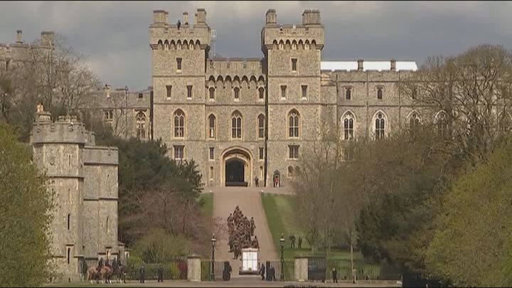 El lugar escogido para Harry en el funeral del duque de Edimburgo