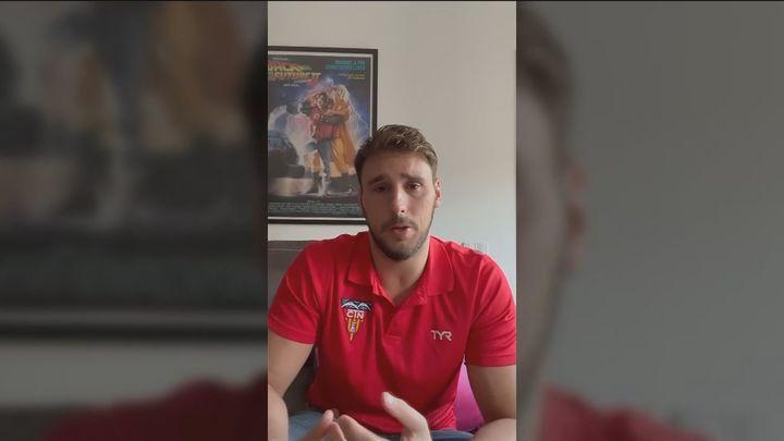 El jugador Víctor Gutiérrez denuncia insultos homófobos durante un partido de waterpolo