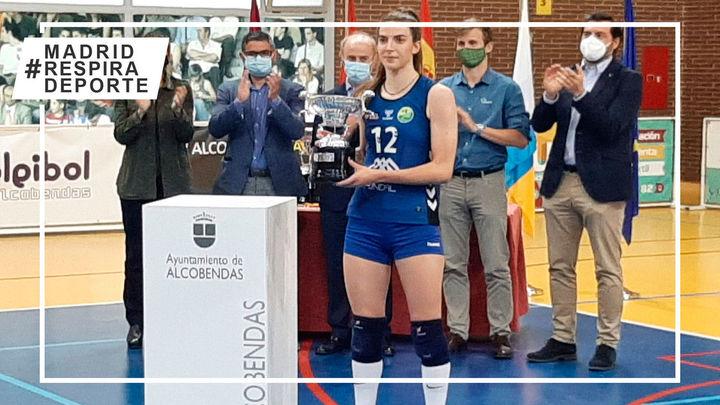 Voleibol Alcobendas, subcampeón de liga en la mejor temporada de su historia