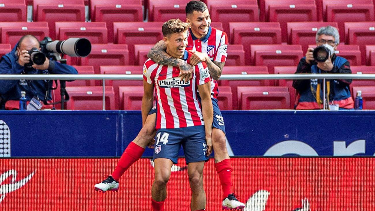 Correa y Marcos Llorente