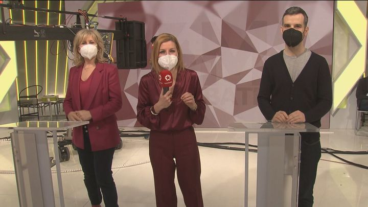 Así son los ensayos para el debate electoral en Telemadrid del próximo miércoles