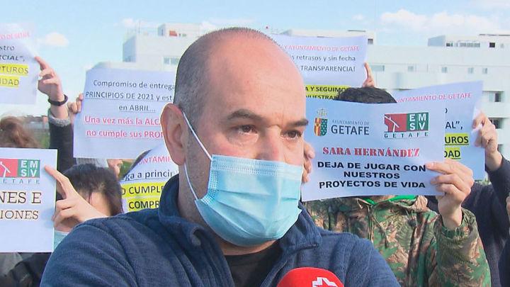 150 familias de Getafe llevan 6 años esperando sus viviendas de protección oficial