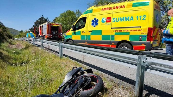 Muere un motorista de 30 años tras ser alcanzado por un turismo en Rozas de Puerto Real
