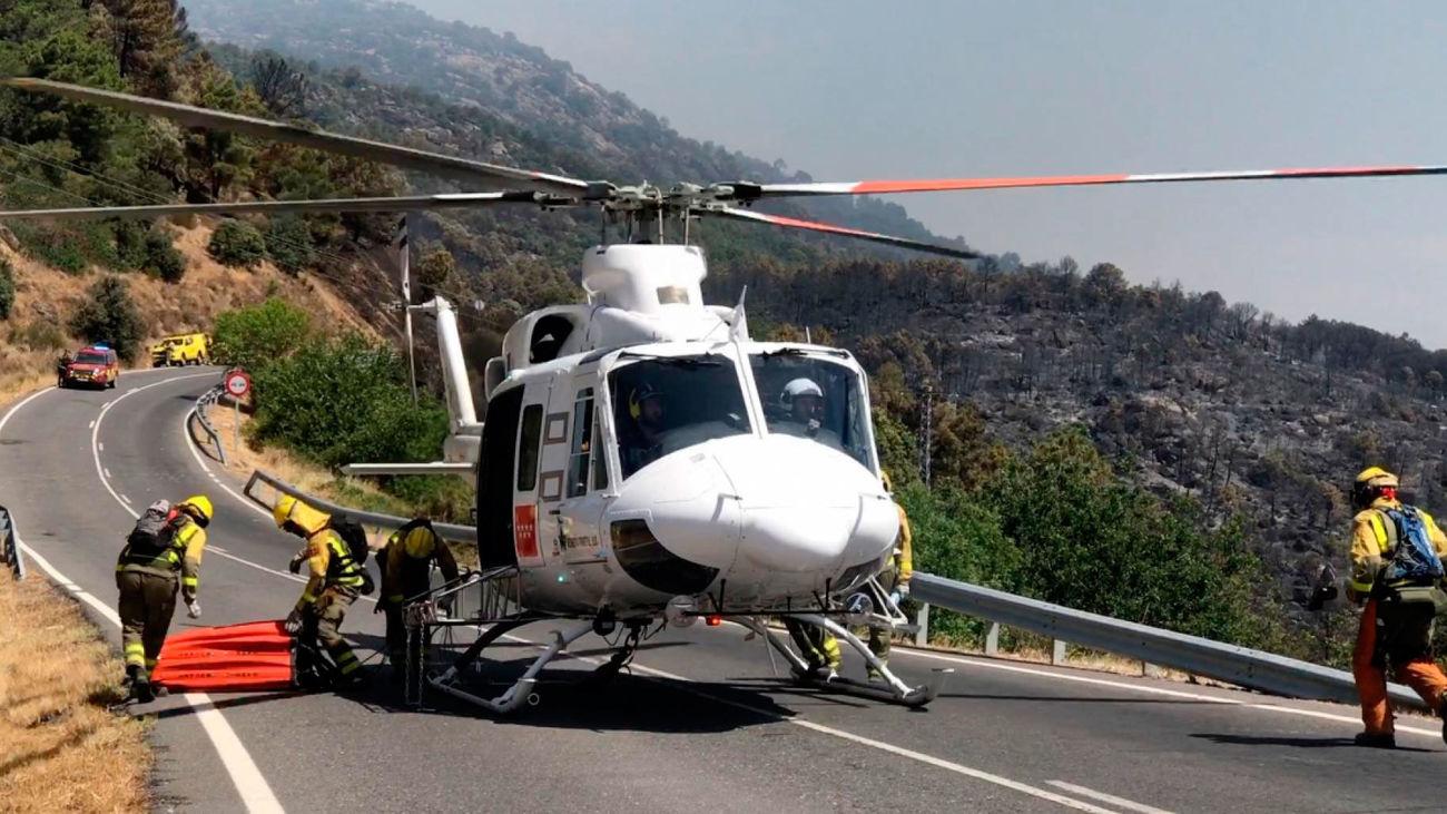 Helicóptero de la Comunidad de Madrid