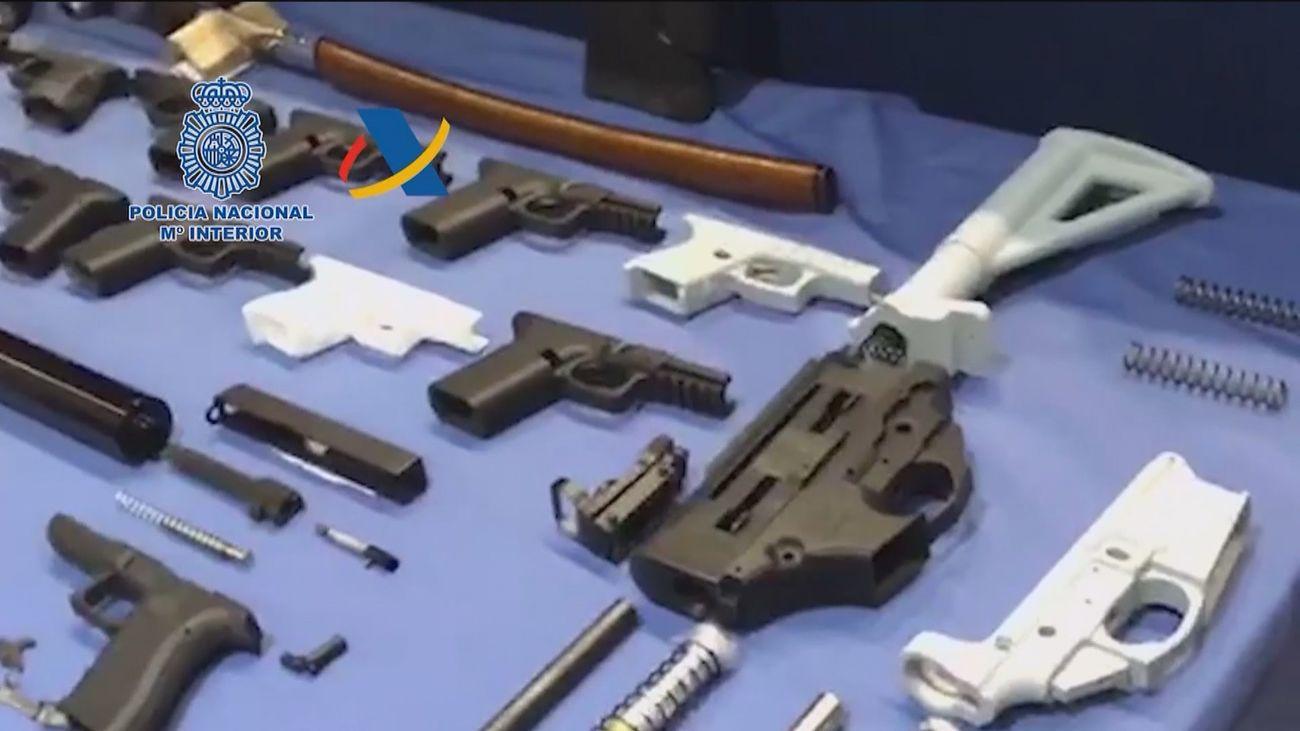 Armas fabricadas con impresoras en 3D en España