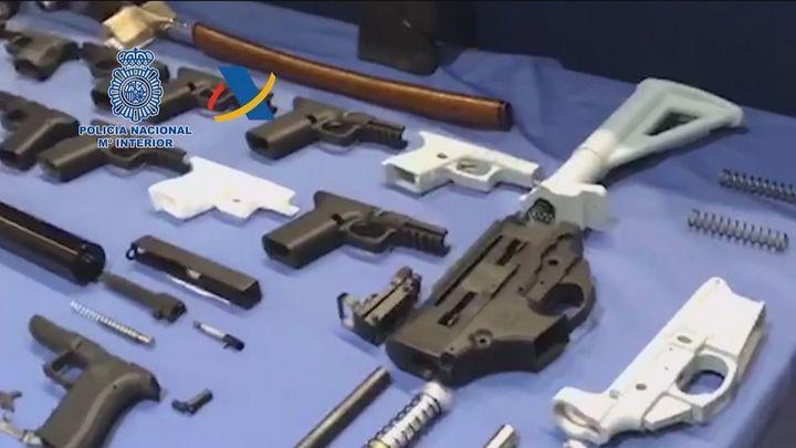 Descubierto el primer taller ilegal de impresión de armas en 3D en España