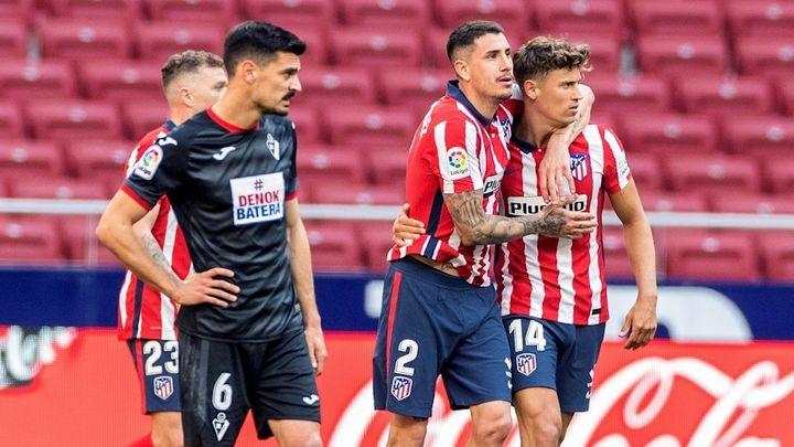 Atlético de Madrid, un respiro de cinco goles y dos puntos