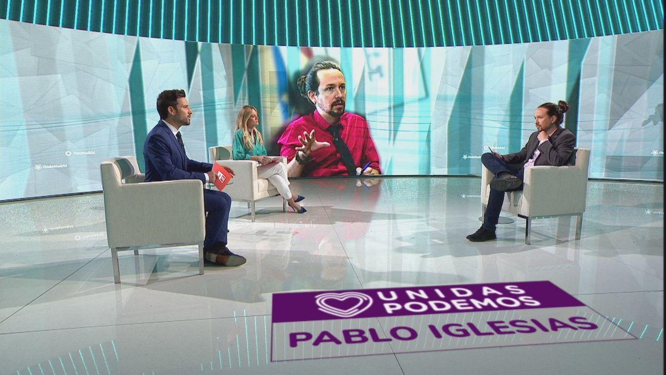 """Pablo Iglesias: """"Hasta que no se produzcan los debates, las encuestas no van a ninguna parte"""""""