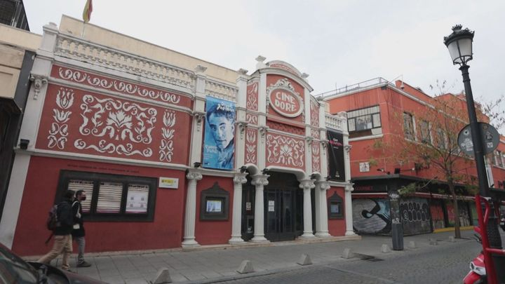 El Cine Doré, el cine donde se comían pipas
