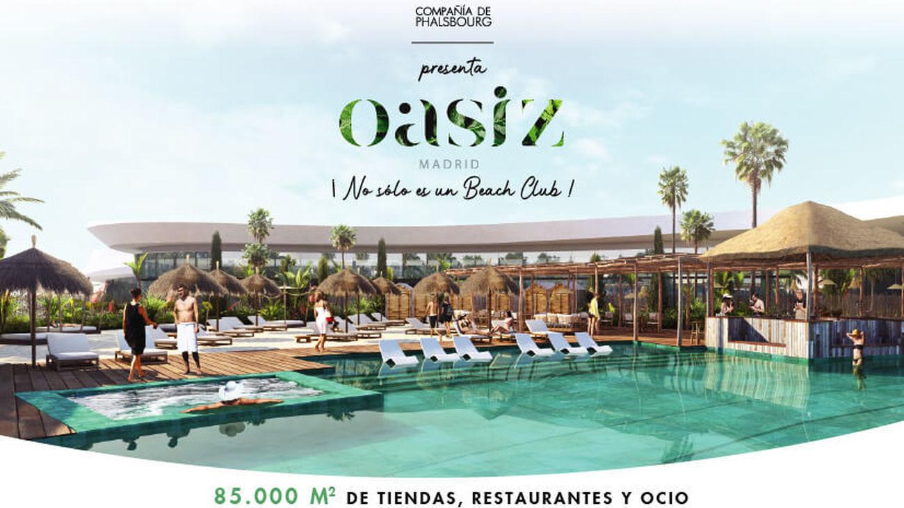 Oasiz Madrid publicará en su web los 1.500 puestos de trabajo en Torrejón de Ardoz