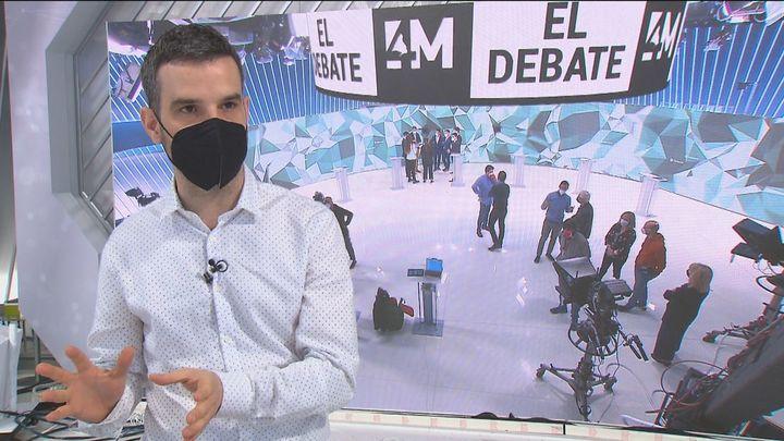 Un protocolo y medidas antiCovid para el debate electoral en Telemadrid
