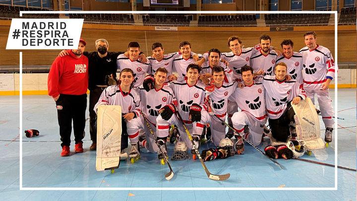 Tres Cantos se clasifica para la final de la liga de hockey línea masculina