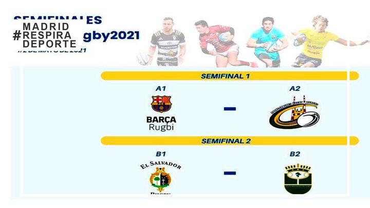 Alcobendas Rugby se enfrentará al SilverStorm en las semifinales de la Copa del Rey