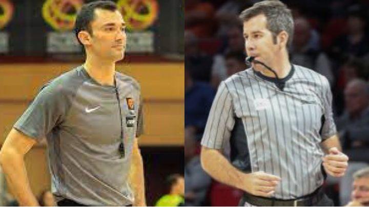 Serrano y  Fernández, los árbitros madrileños de la Liga Endesa en Onda Madrid