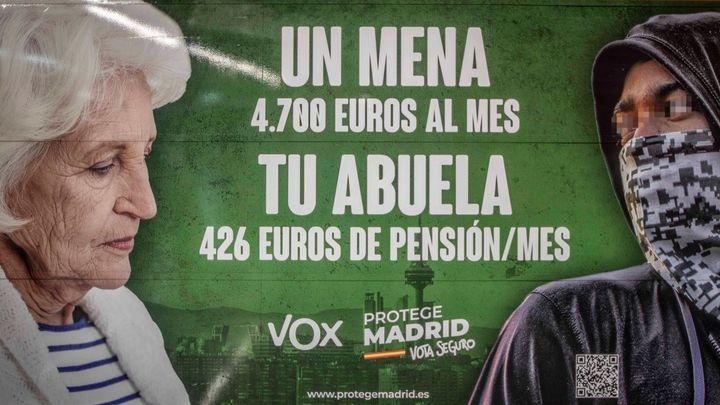 """Joaquim Bosch, magistrado: """"El cartel de Vox podría ser constitutivo de un delito de odio pero hay que analizar el contexto"""""""