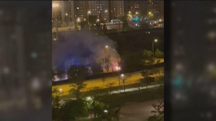 ¿Quién quema los coches en Sanchinarro?