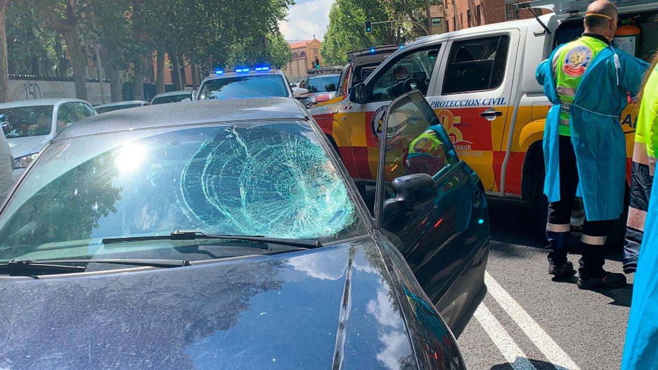 Un hombre de 41 años herido grave al ser atropellado en Chamaberí