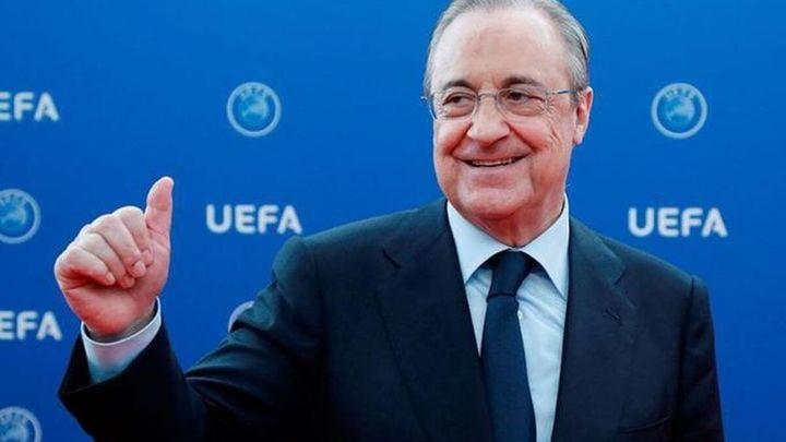 """Florentino Pérez: """"La Superliga es necesaria para salvar el fútbol"""""""