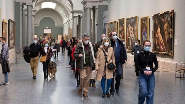 El Museo del Prado ofrece visitas guiadas para personas ciegas