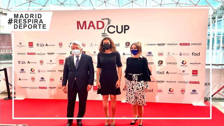 Madrid acoge la Madcup, uno de los torneos de fútbol base más importantes del mundo