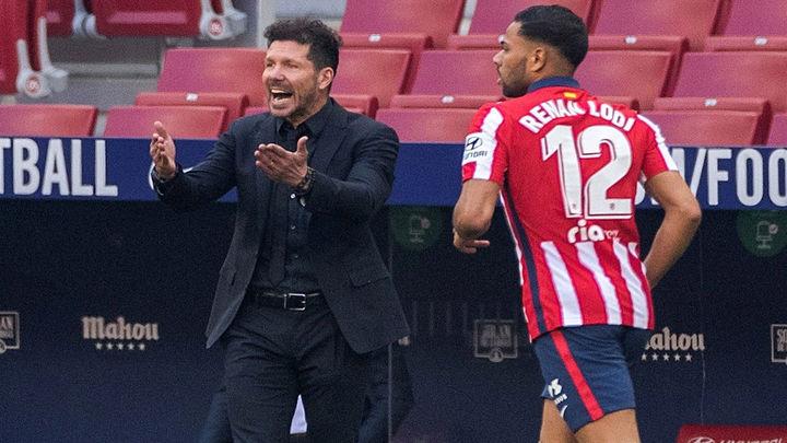 """Simeone: """"La Liga está apretada, linda y ojalá la pueda ganar quien se lo merezca"""""""
