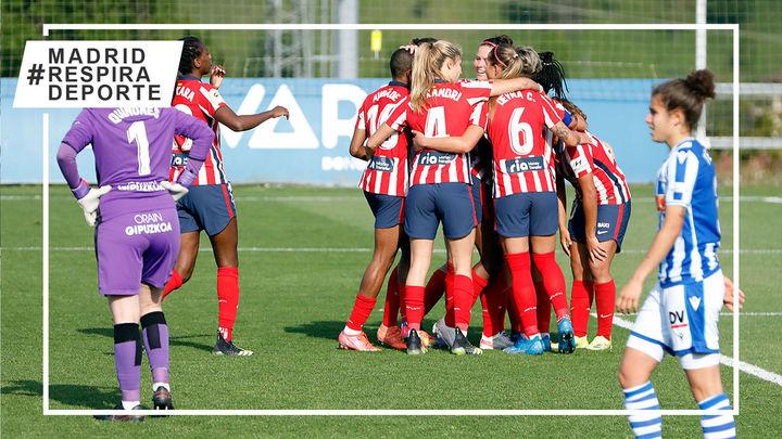 0-1. Un gol en el minuto 93 mete al Atlético en semifinales de la Copa de la Reina