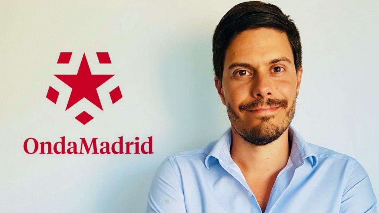 David Junquera, coordinador de informativos de Onda Madrid.