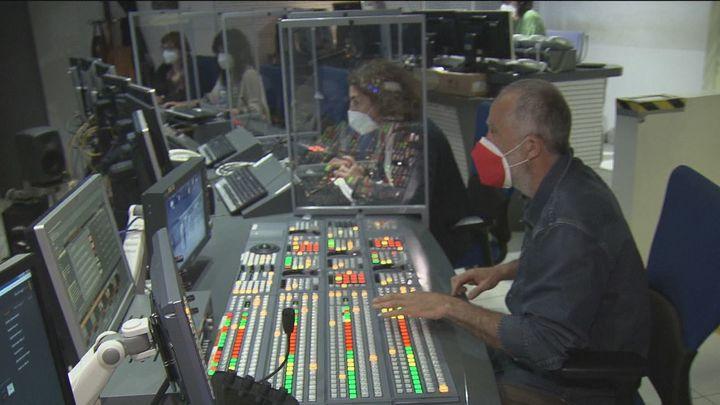 Gran despliegue técnico de Telemadrid para el debate electoral con el programa especial que comienza a las 19 horas