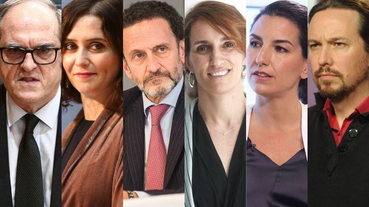 ¿Cómo están preparando los candidatos el decisivo debate de este miércoles en Telemadrid?