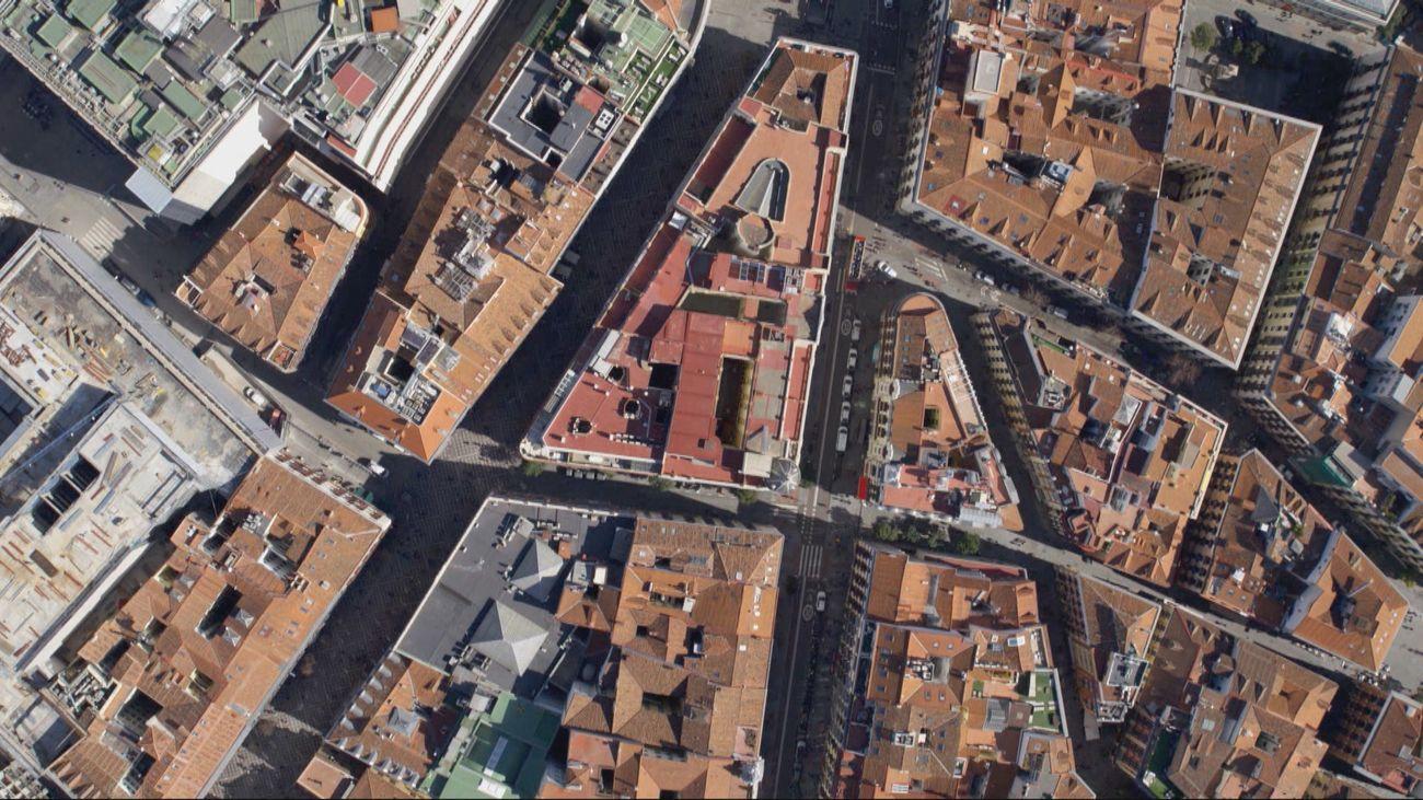 Madrid desde el aire: Madrid, la ciudad que cambia