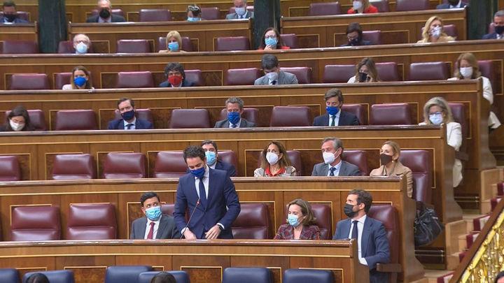 La campaña electoral madrileña marca la sesión de control