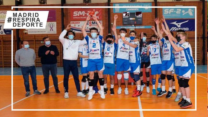 Voleibol Leganés, campeón de Madrid Cadete