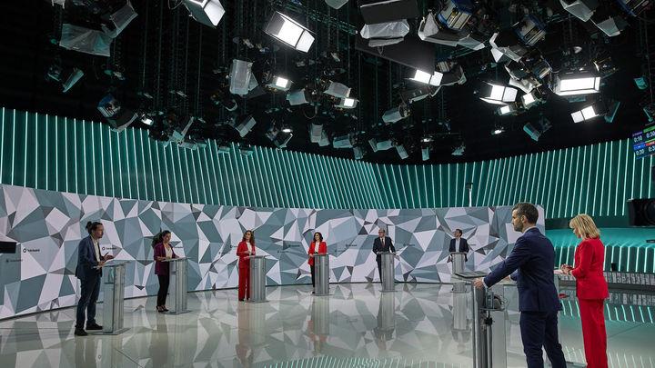 Las mentiras y medias verdades del debate electoral en Telemadrid