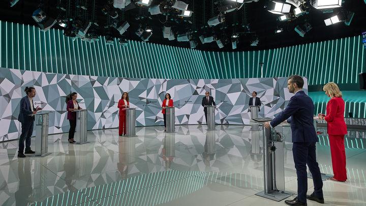 """#DebateTelemadrid: desde el """"pack Gabilondo-Iglesias"""" de Edmundo Bal al """"salvo insultar, los demás no hicieron nada"""" de Ayuso"""