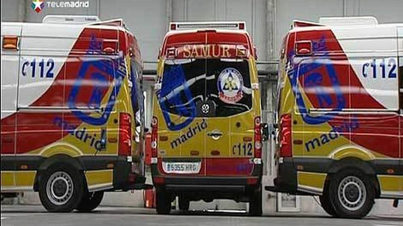 Ambulancias del SAMUR