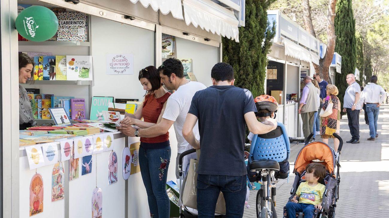Imagen de la Feria del Libro de Pozuelo de 2019