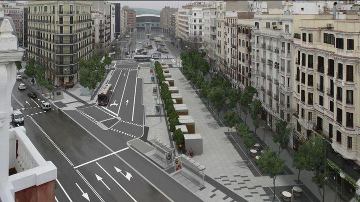 Luz verde a la reforma de la avenida de Felipe II con más espacio para el peatón