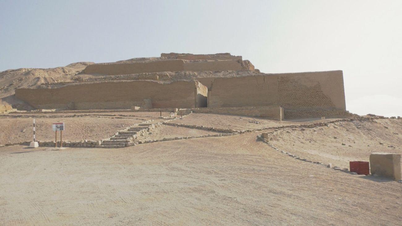 Visitamos el santuario Pachacamac y el Museo del Oro