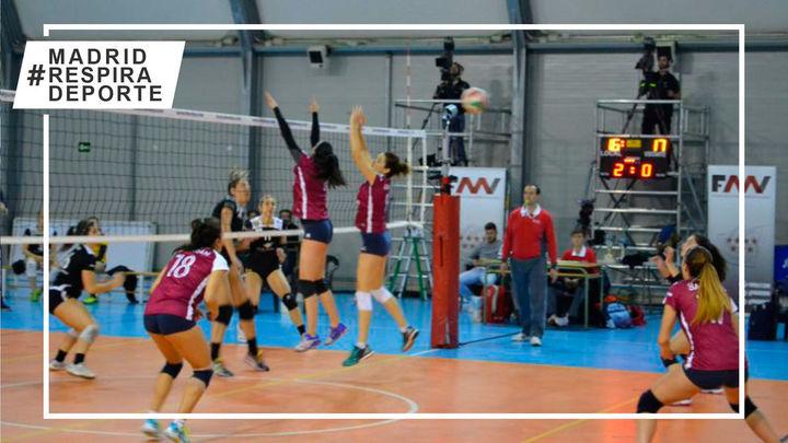 La temporada de voleibol continúa en Madrid con las Ligas de Primavera