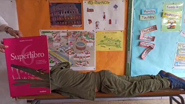 Cuando un libro cobra vida... la curiosa iniciativa de un colegio de Madrid