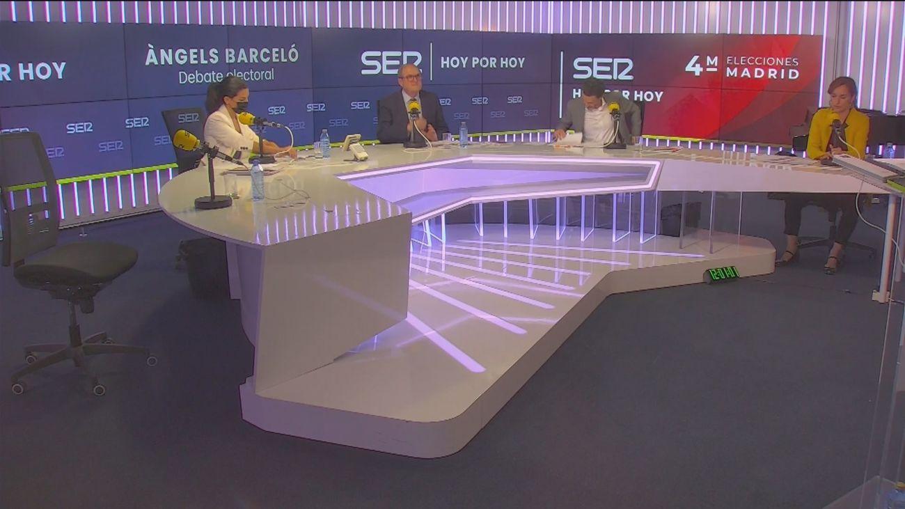Debate electoral en la cadena Ser